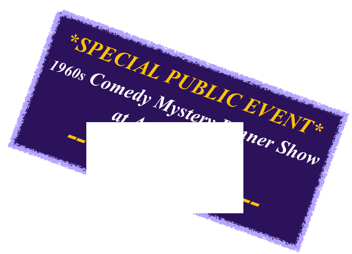 *SPECIAL PUBLIC EVENT*